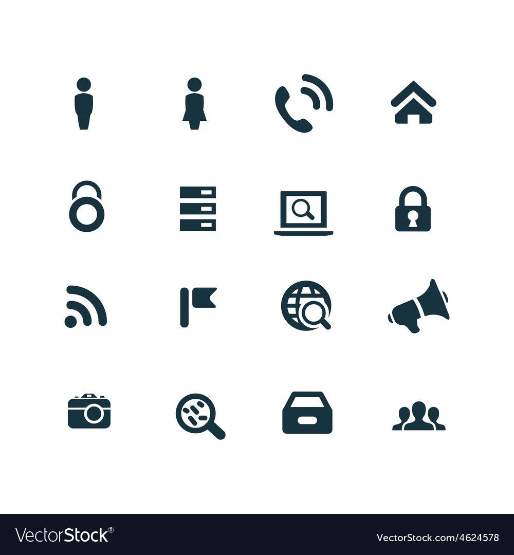 Crime justice icons set vector | Price: 1 Credit (USD $1)