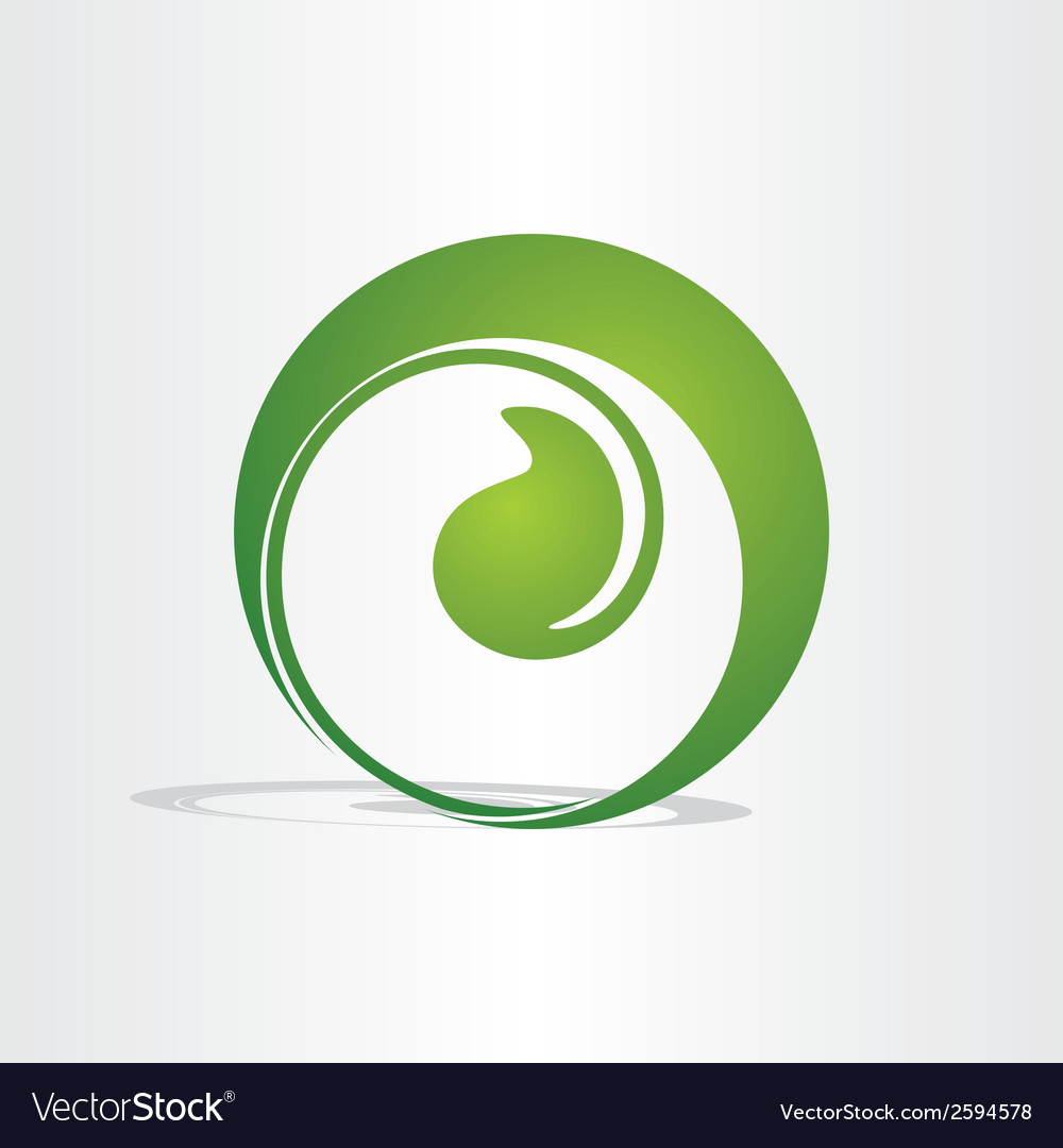 Plant birth growing eco design vector | Price: 1 Credit (USD $1)