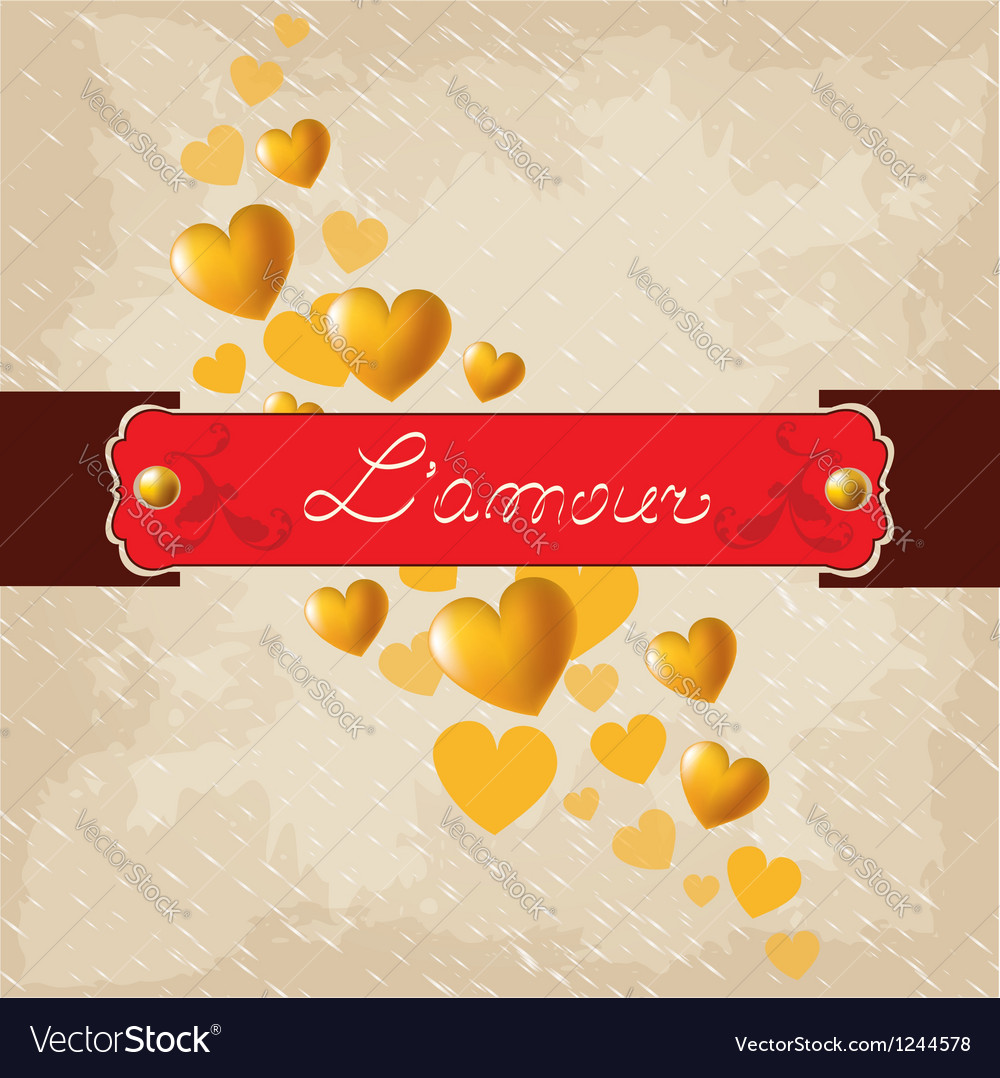 Romantic background valentines day vector | Price: 1 Credit (USD $1)