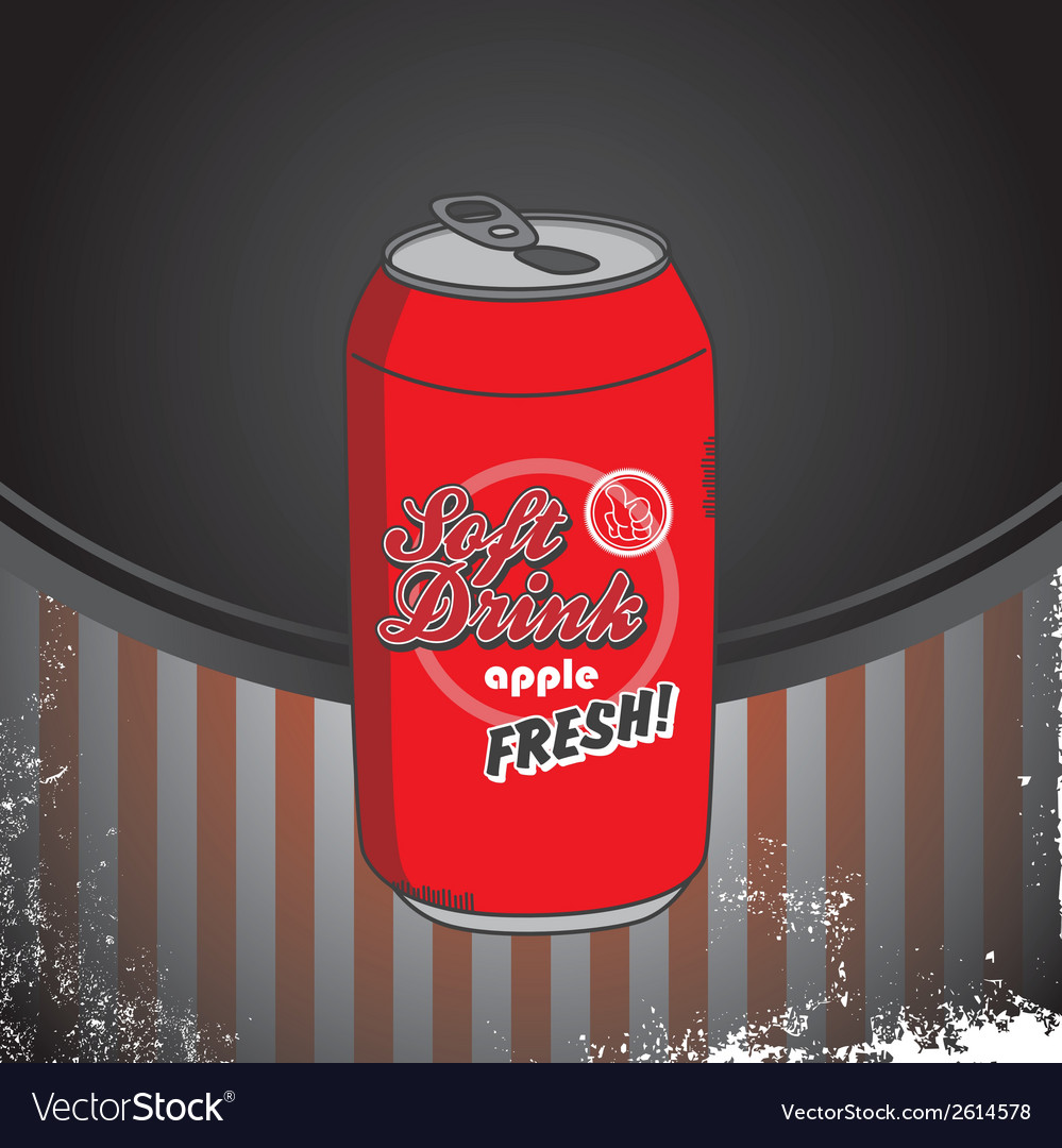 Soda can vector | Price: 1 Credit (USD $1)