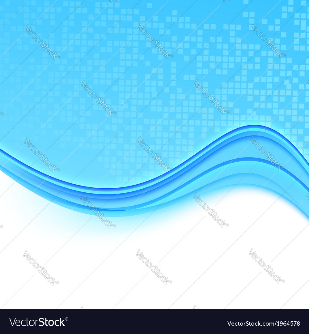 Transparent folder with a blue wave vector | Price: 1 Credit (USD $1)