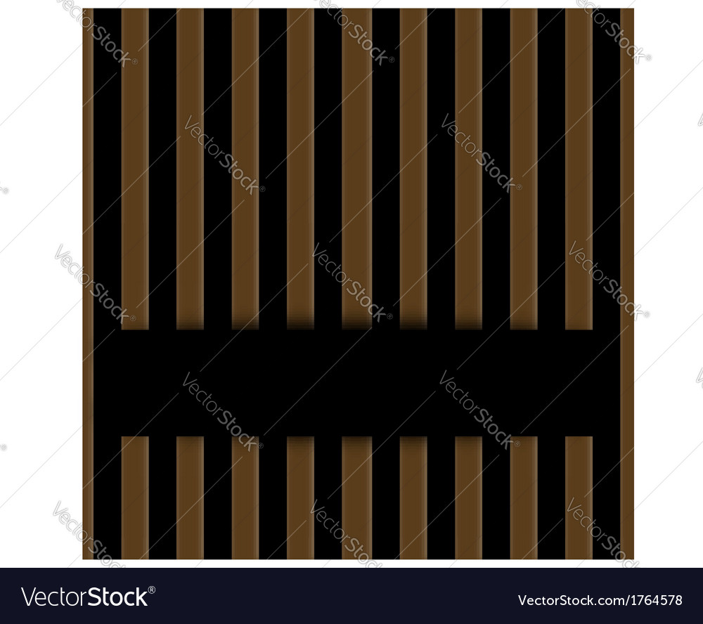 Wooden fence background vector | Price: 1 Credit (USD $1)