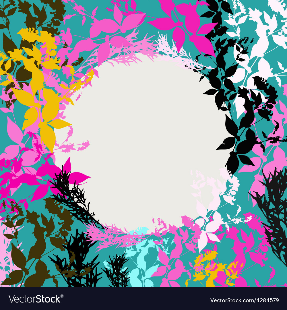 Abstract design with black pink orange teal vector | Price: 1 Credit (USD $1)