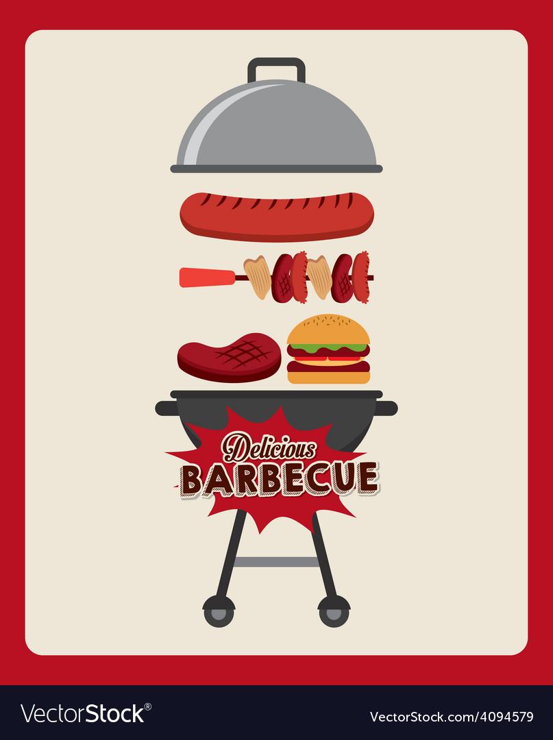Barbecue food vector   Price: 1 Credit (USD $1)