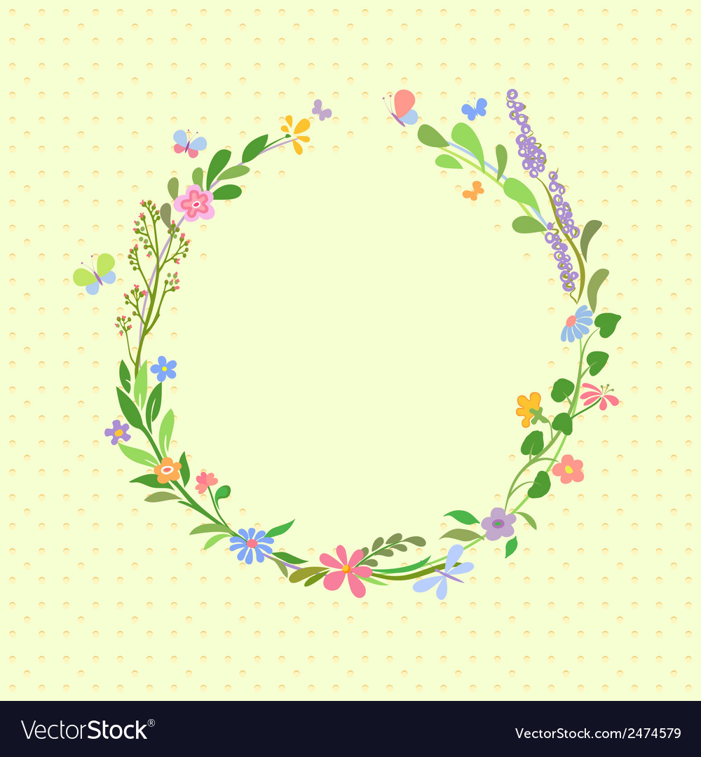 Summer frame vector | Price: 1 Credit (USD $1)
