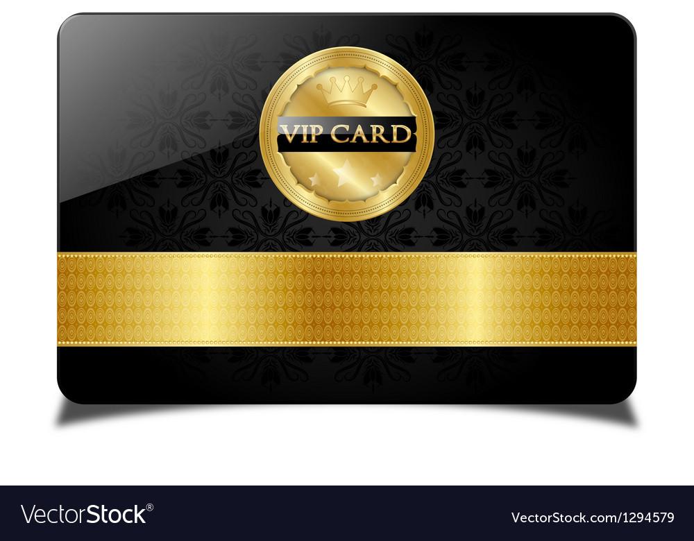 Vip card vector | Price: 1 Credit (USD $1)