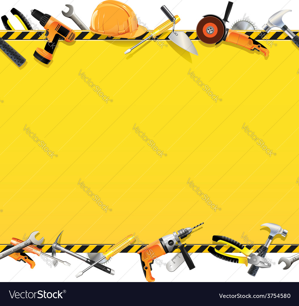 Construction background vector | Price: 3 Credit (USD $3)