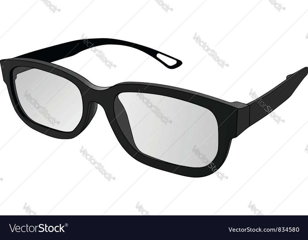 Eye glasses vector | Price: 1 Credit (USD $1)