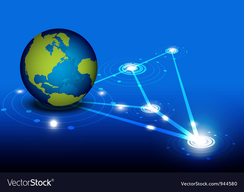 Global network design vector | Price: 1 Credit (USD $1)