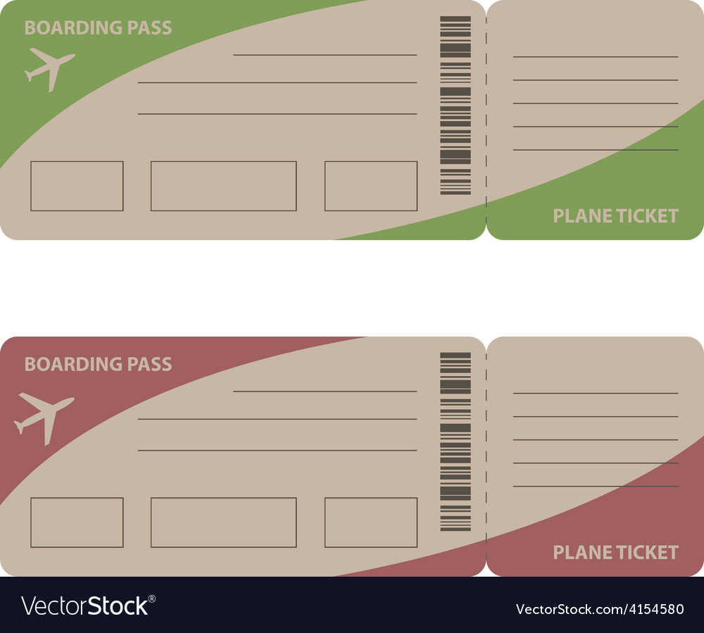 Plane tickets vector | Price: 1 Credit (USD $1)