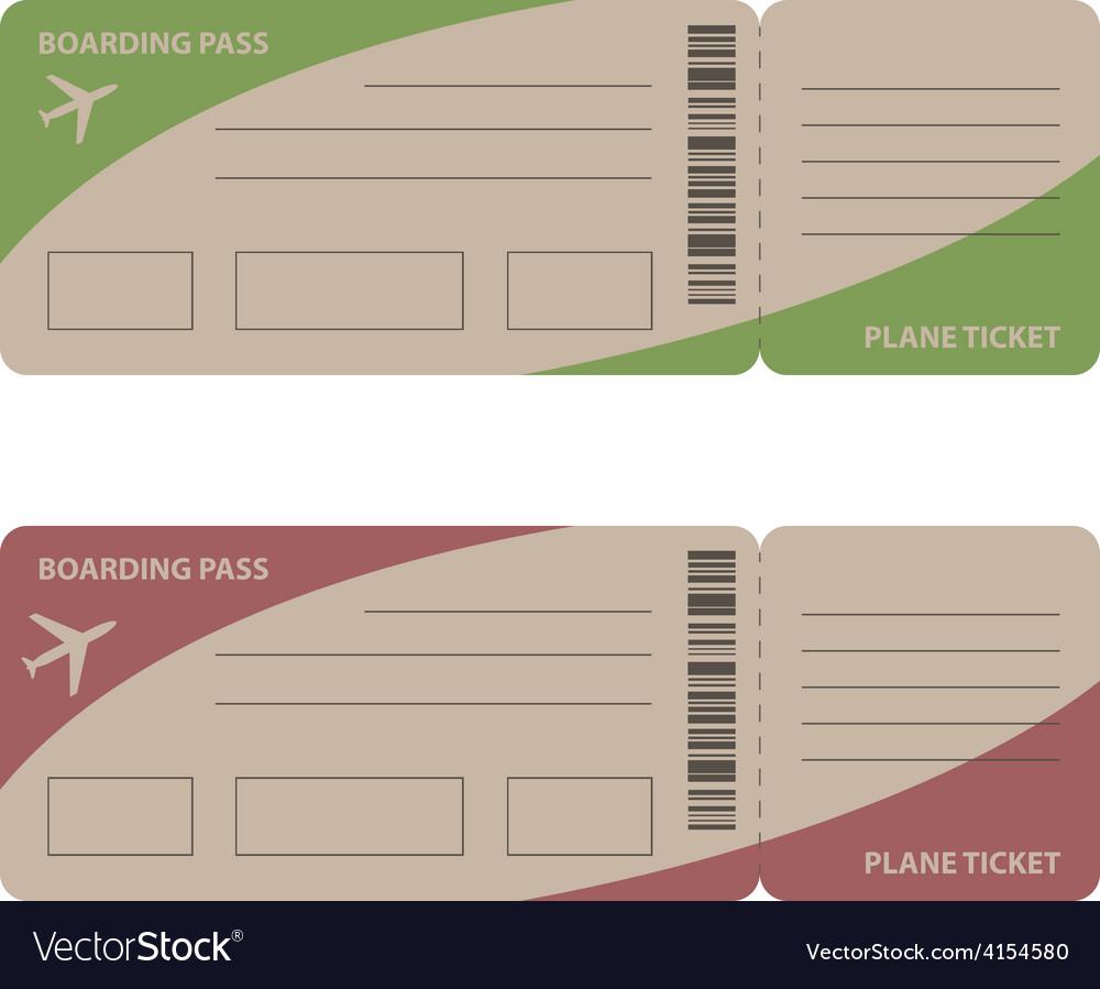 Plane tickets vector   Price: 1 Credit (USD $1)