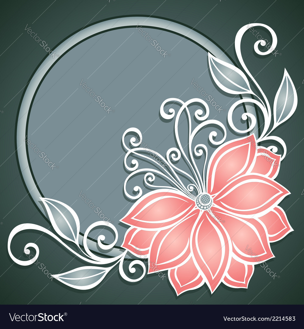 Colored floral backgroundfloral background 16 5 vector | Price: 1 Credit (USD $1)