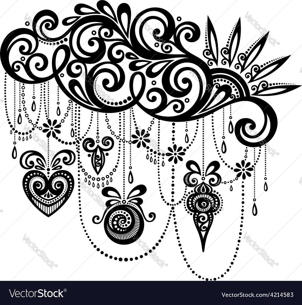 Decorative element vector | Price: 1 Credit (USD $1)