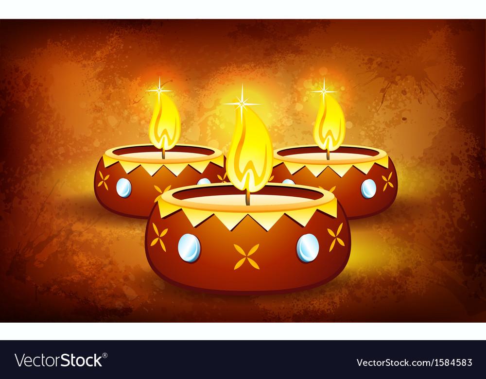 Happy diwali vector | Price: 1 Credit (USD $1)