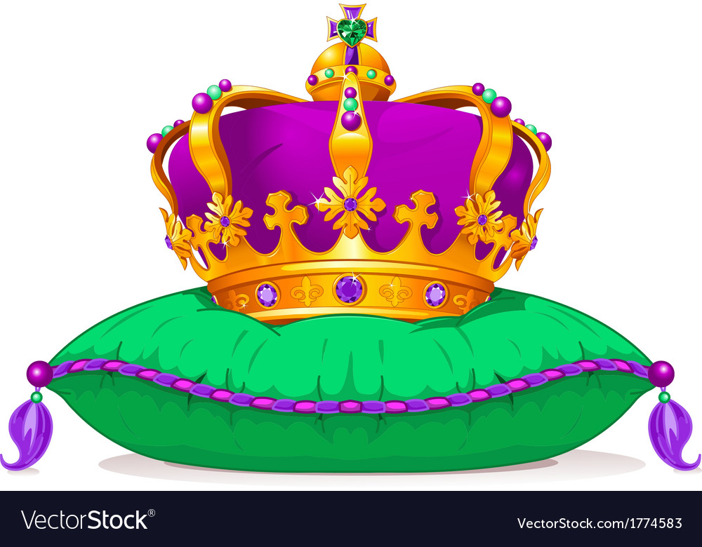 Mardi gras crown vector | Price: 3 Credit (USD $3)