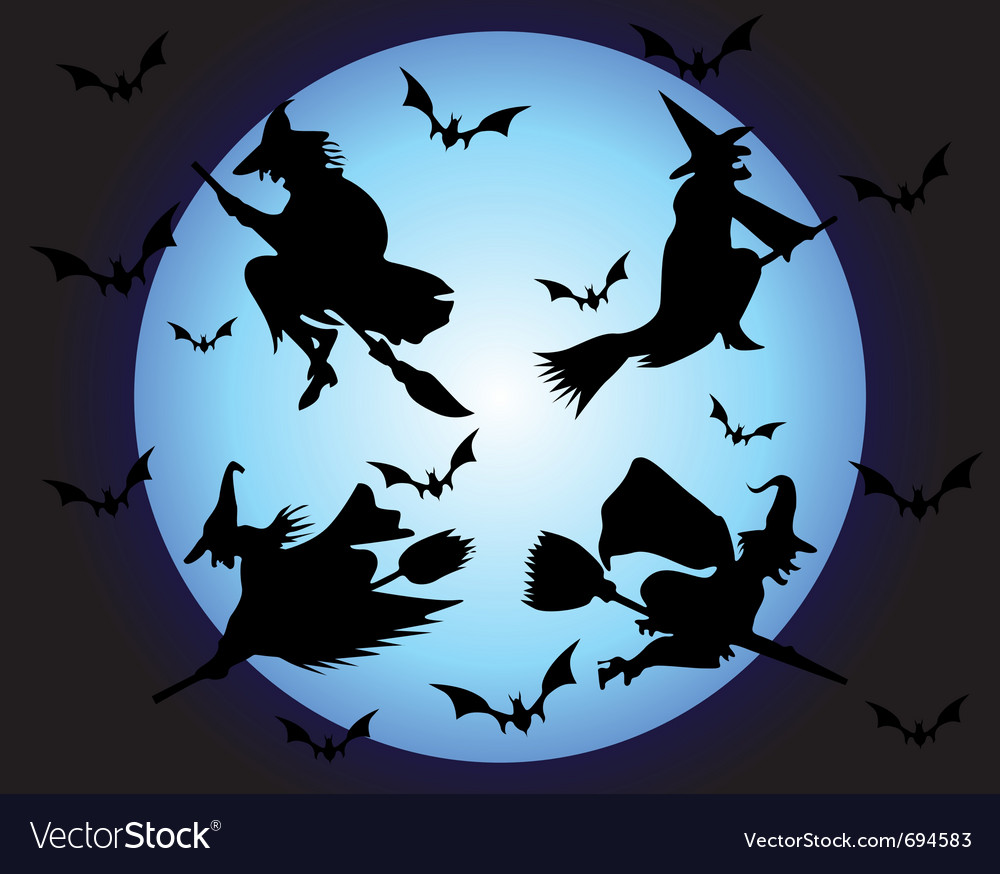Witches vector | Price: 1 Credit (USD $1)
