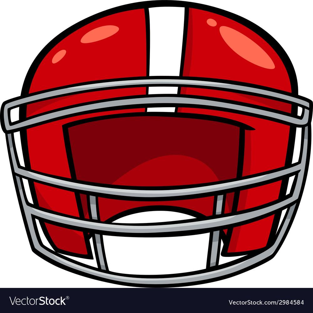 American football helmet clip art vector | Price: 1 Credit (USD $1)