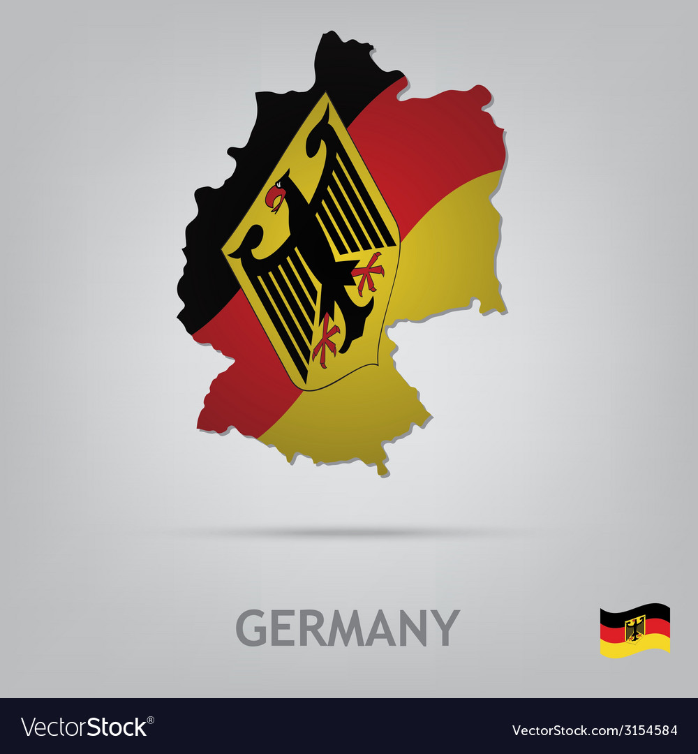 Germany vector | Price: 1 Credit (USD $1)