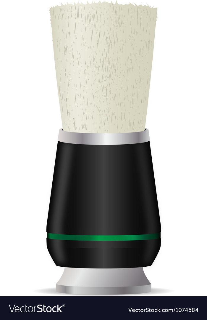 Shaving brush vector | Price: 1 Credit (USD $1)