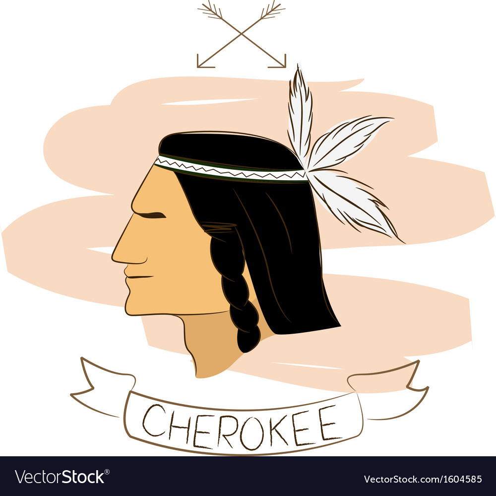 Cherokee vector | Price: 1 Credit (USD $1)