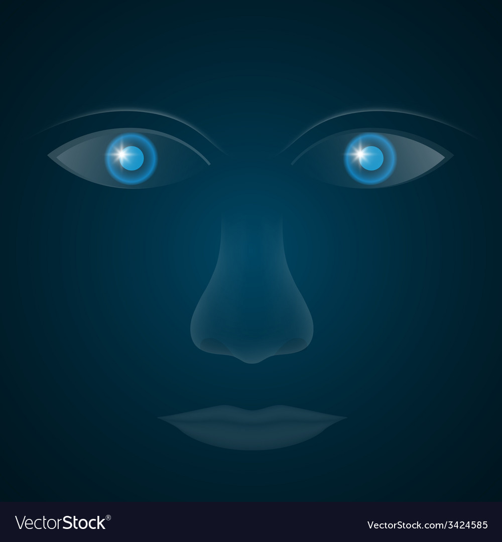 Glass eyes vector   Price: 1 Credit (USD $1)