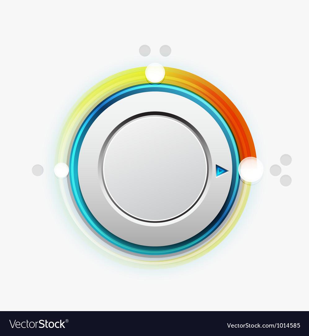 Knob switch vector | Price: 1 Credit (USD $1)