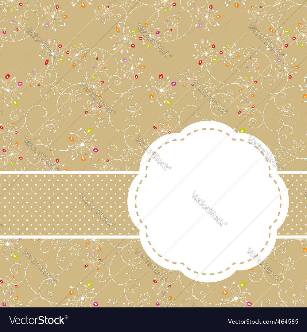 Springtime seamless vector | Price:  Credit (USD $)