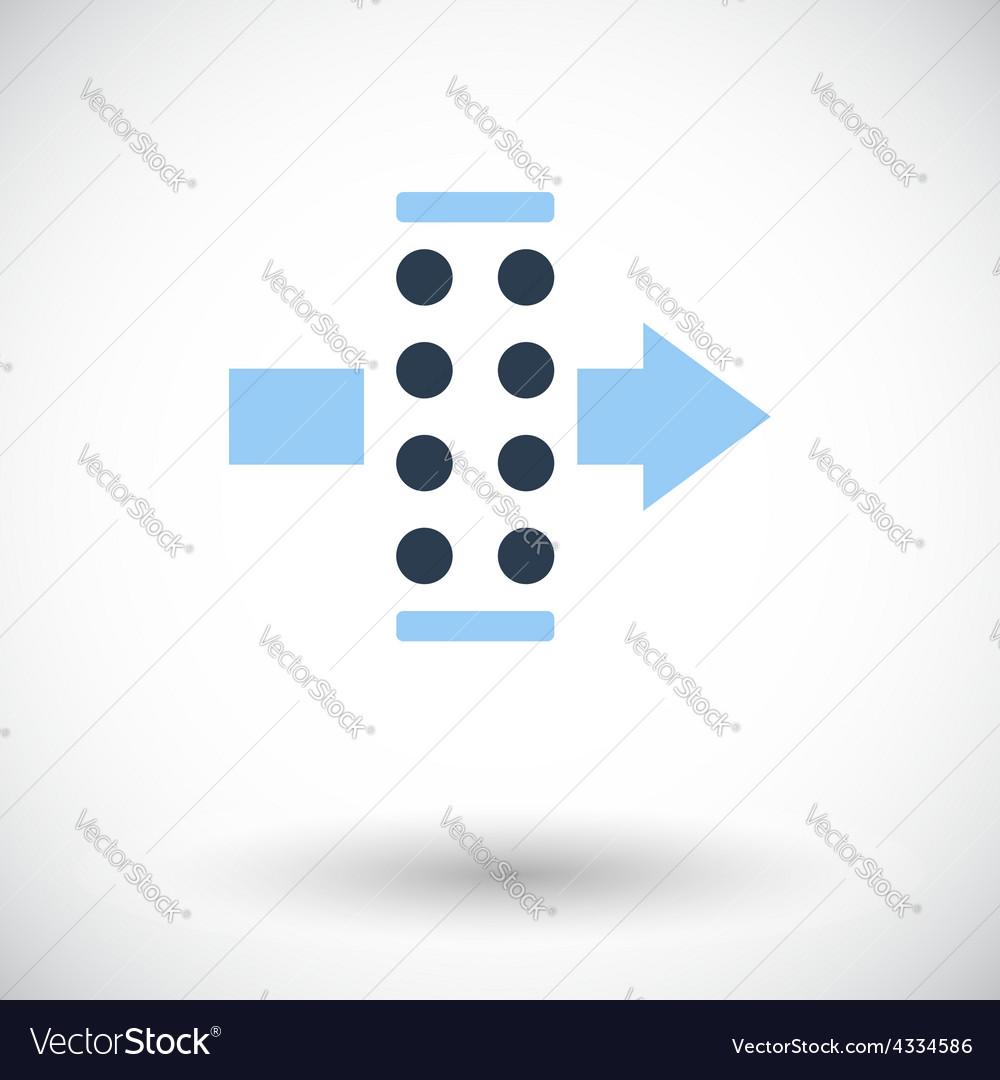 Air filter vector | Price: 1 Credit (USD $1)