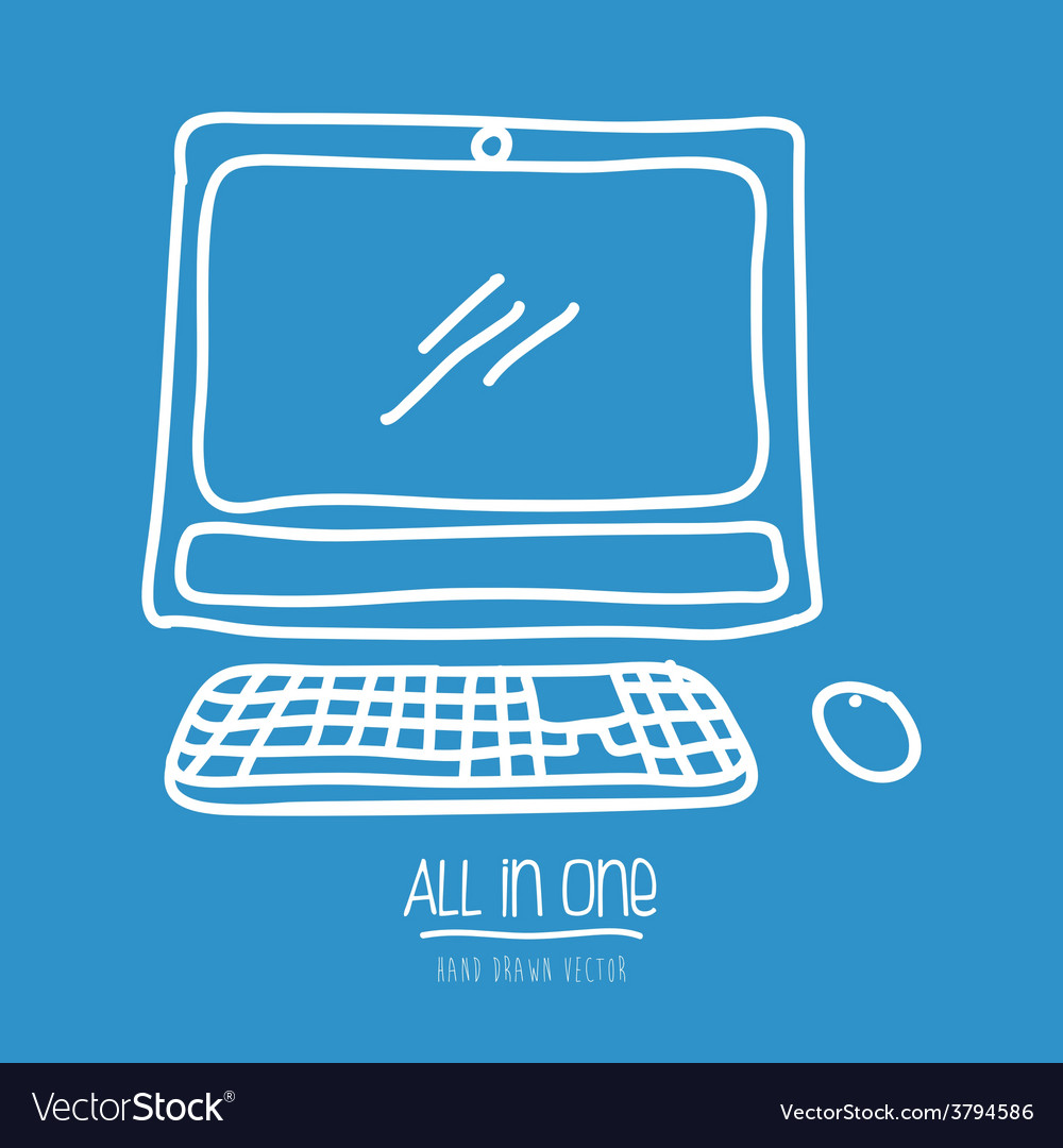 All in one vector   Price: 1 Credit (USD $1)
