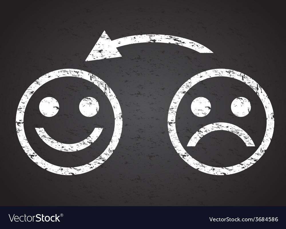 Happy faces vector | Price: 1 Credit (USD $1)
