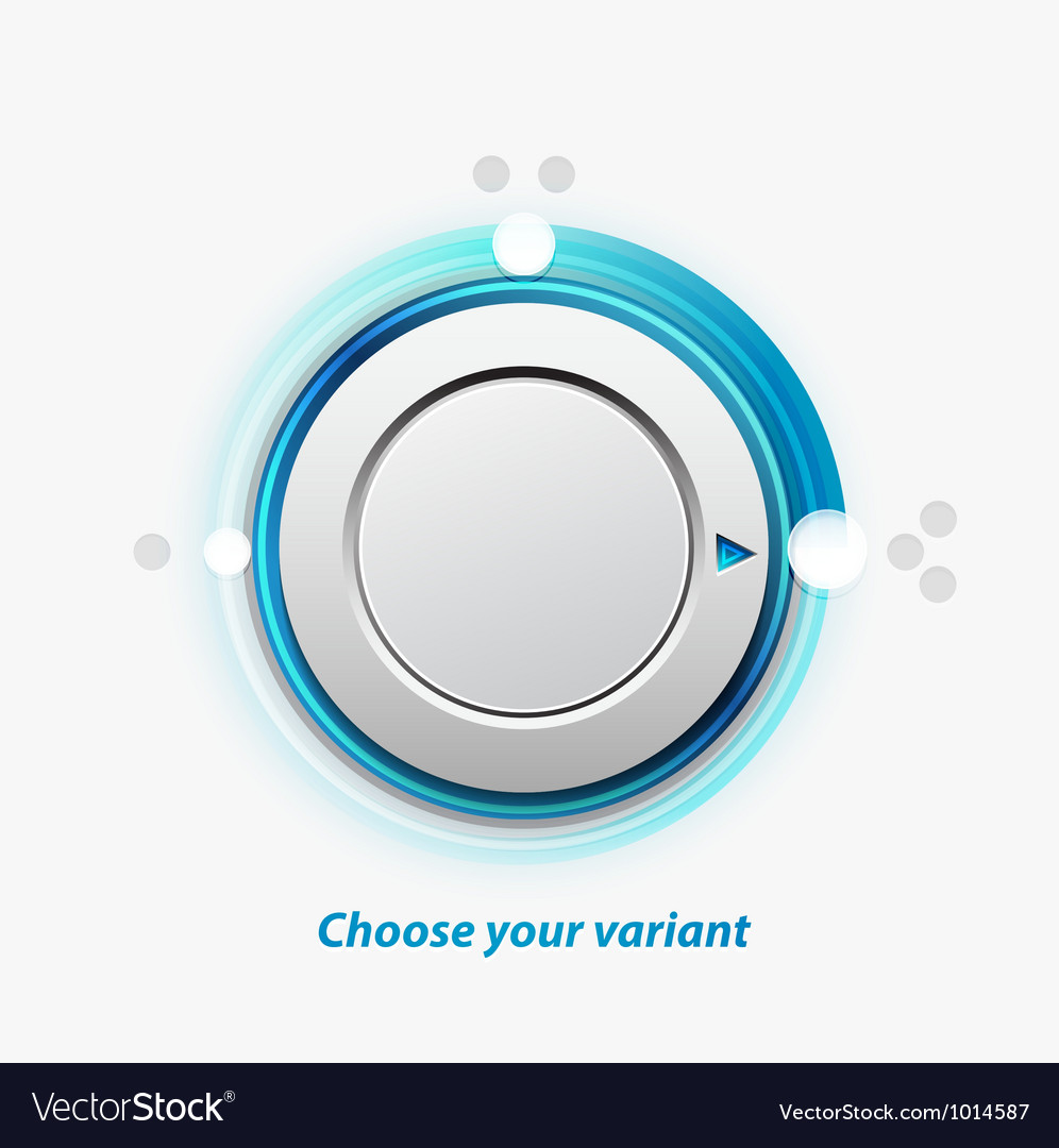 Knob switch vector | Price: 1 Credit (USD $1)