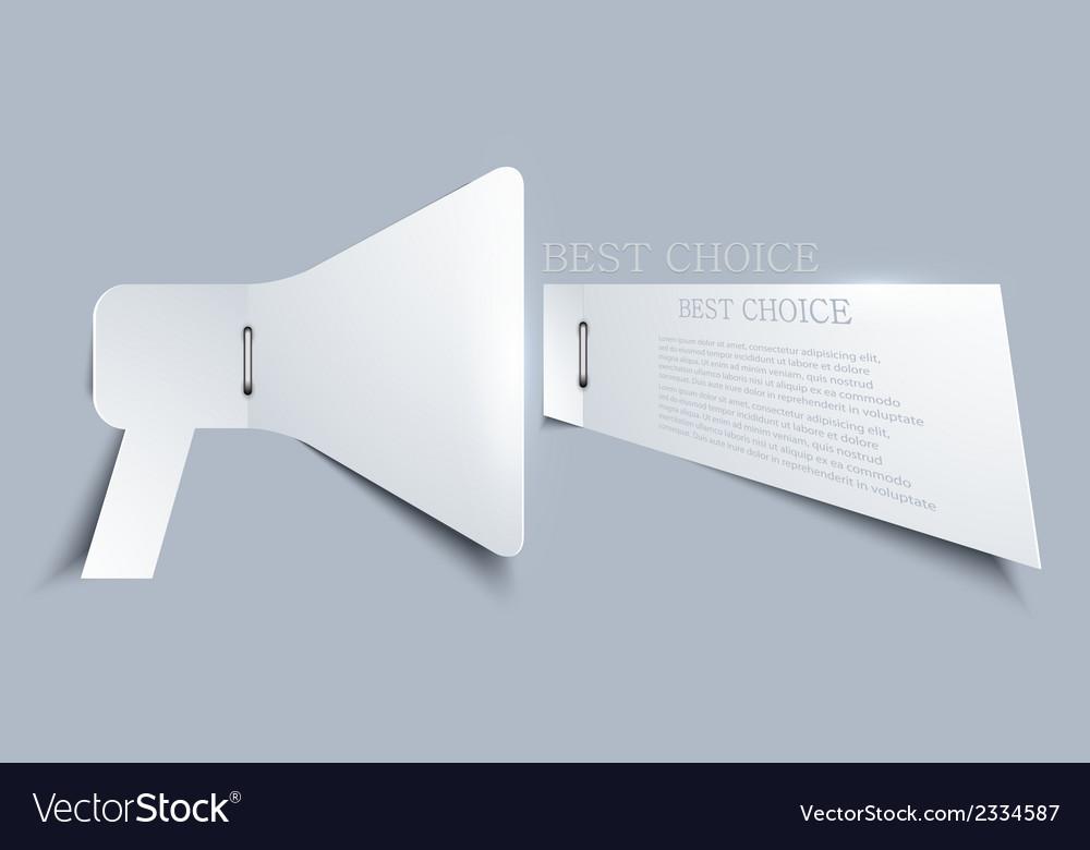 Paper element design vector   Price: 1 Credit (USD $1)