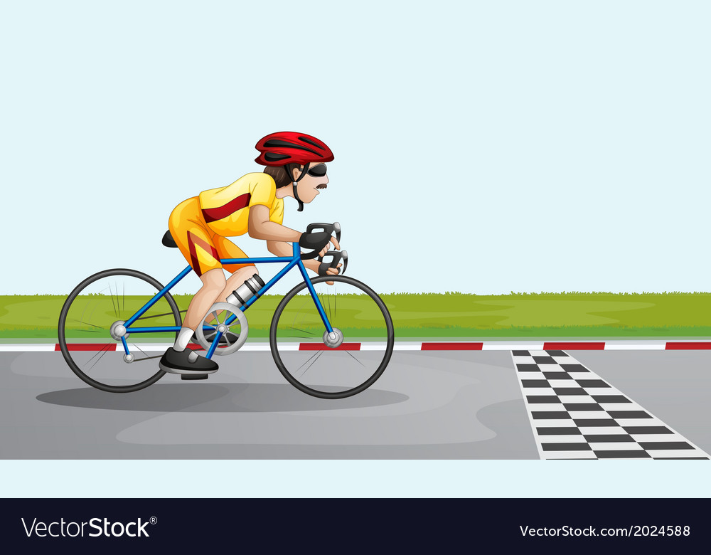 A man joining a race vector | Price: 3 Credit (USD $3)