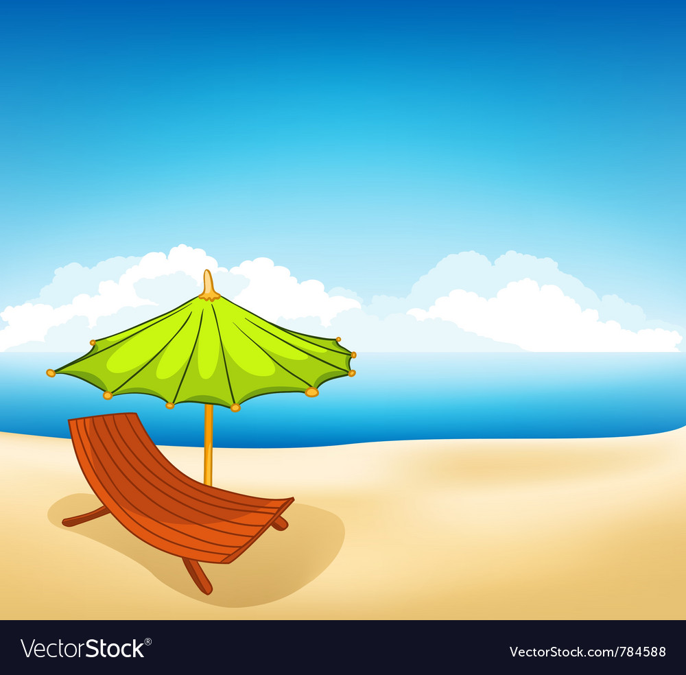Cartoons vocation lounger vector | Price: 1 Credit (USD $1)