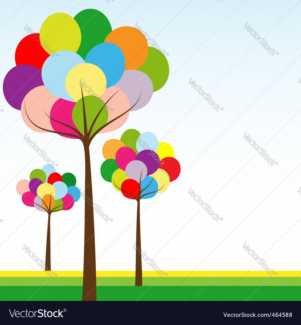 Summer springtime vector | Price: 1 Credit (USD $1)