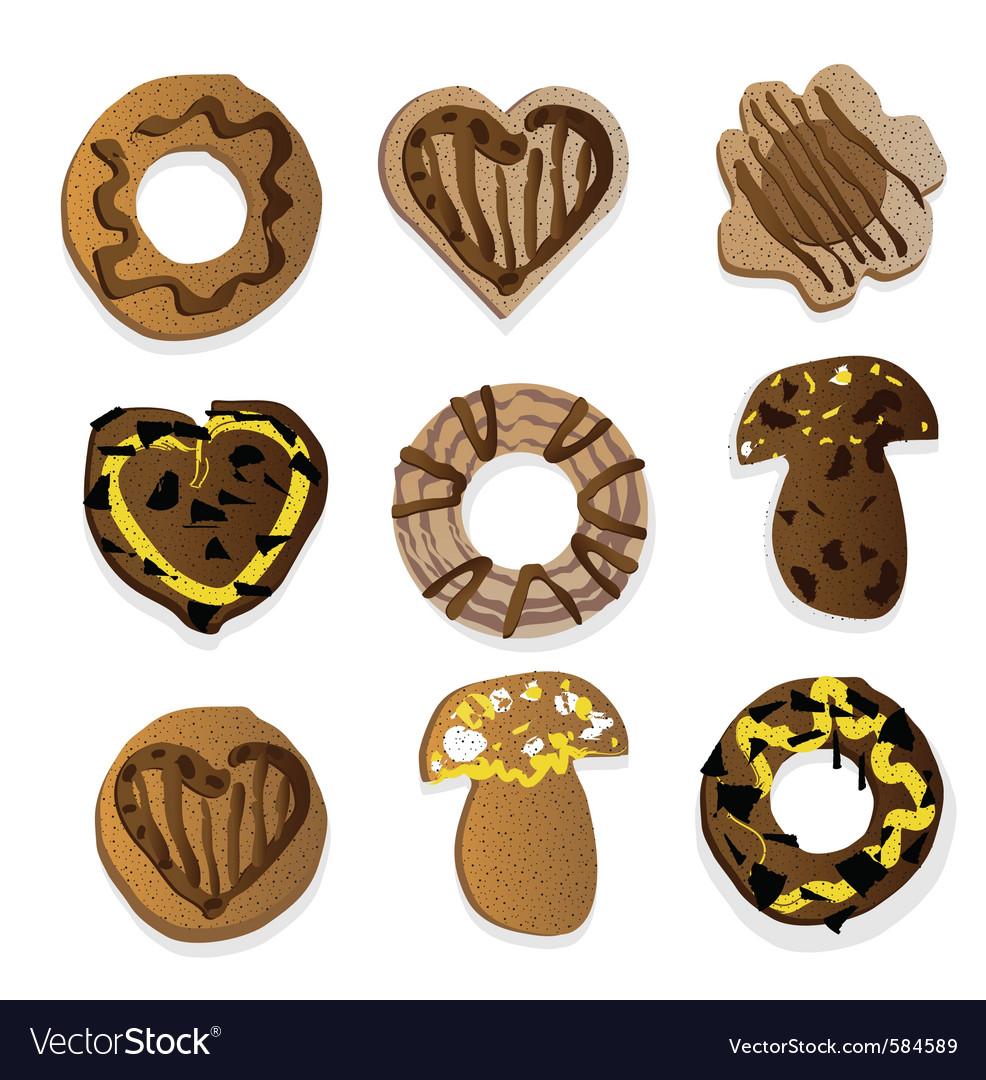 Chocolate goodies vector | Price: 1 Credit (USD $1)