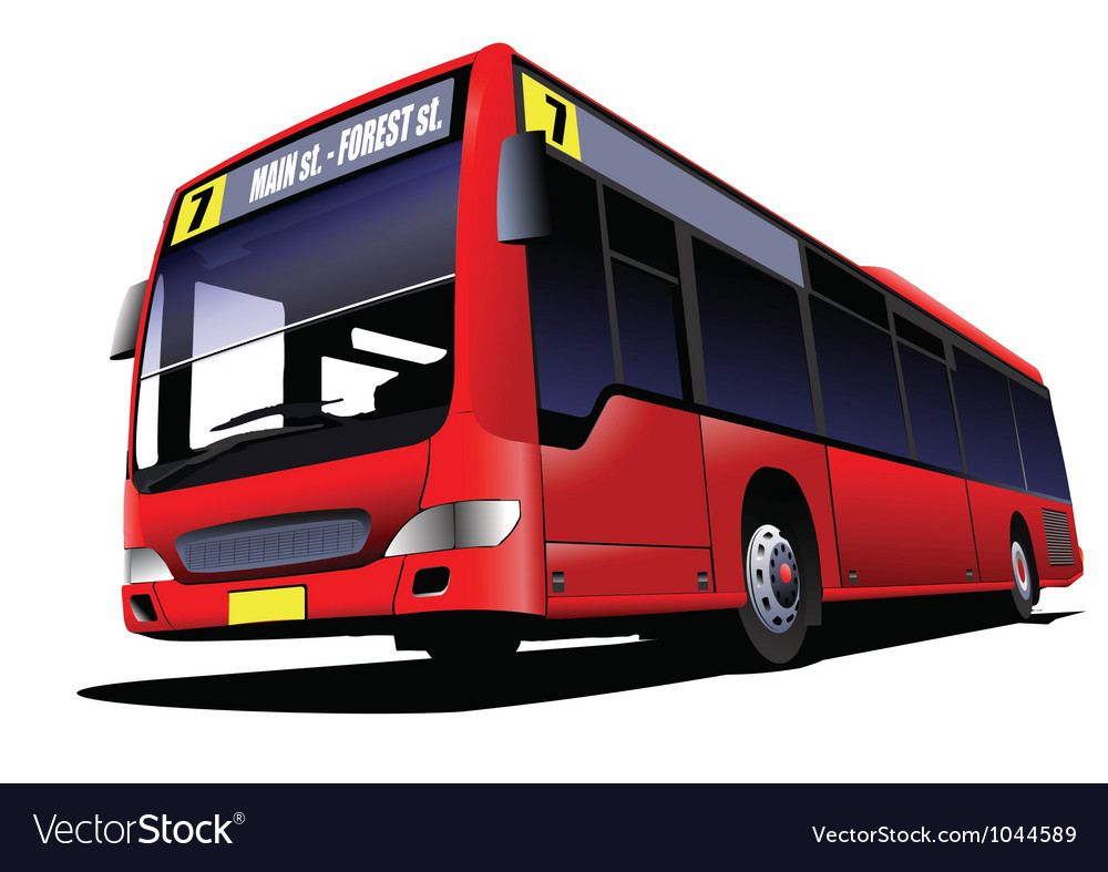 Double decker tours vector | Price: 1 Credit (USD $1)