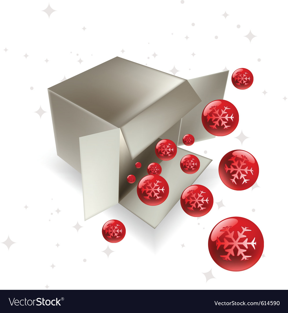 Christmas surprise vector | Price: 1 Credit (USD $1)