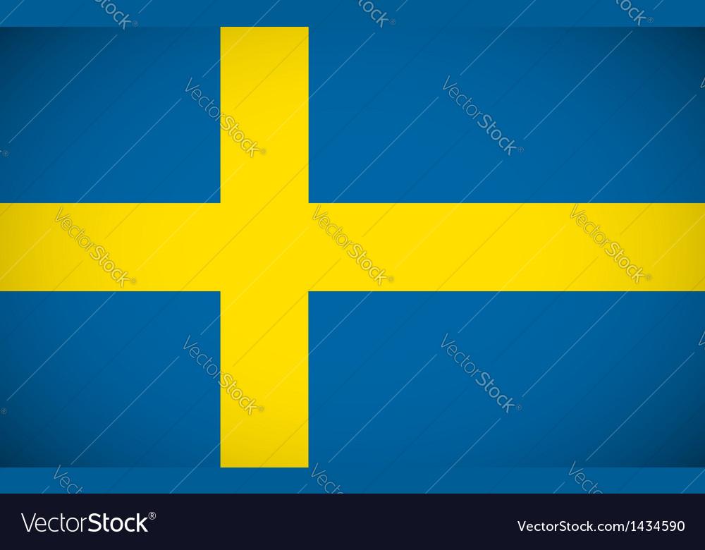 National flag of sweden vector   Price: 1 Credit (USD $1)