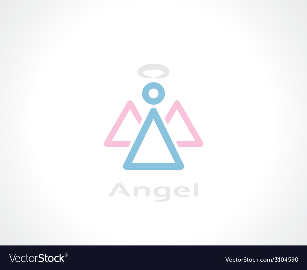 Symbol of angel vector | Price: 1 Credit (USD $1)