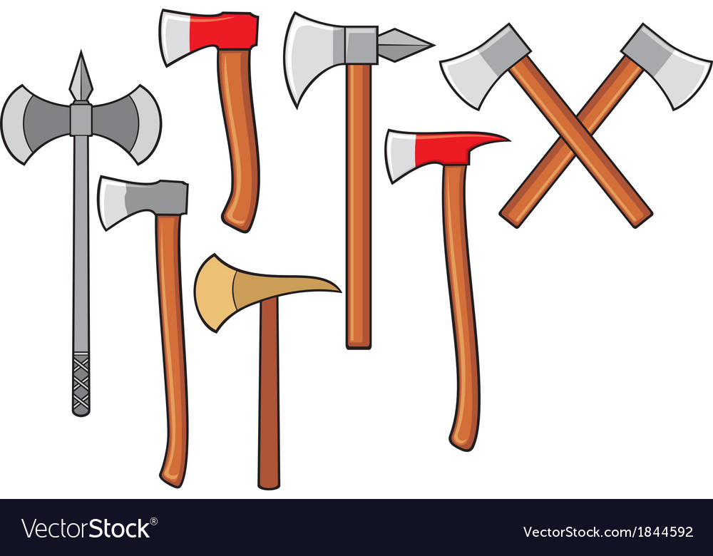 Axes collection vector | Price: 1 Credit (USD $1)