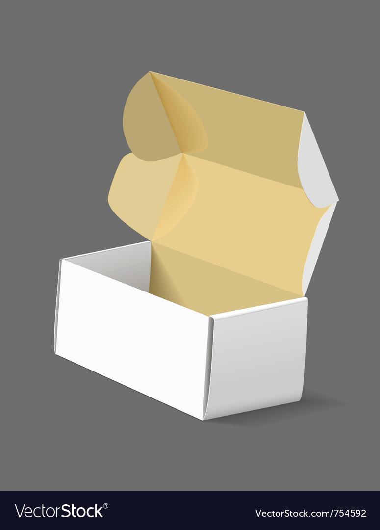 Carton box vector | Price: 3 Credit (USD $3)