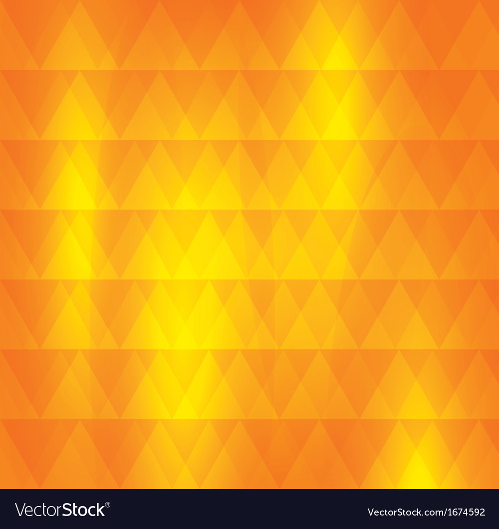Orange pattern of geometric shape colorful mosaic vector | Price: 1 Credit (USD $1)