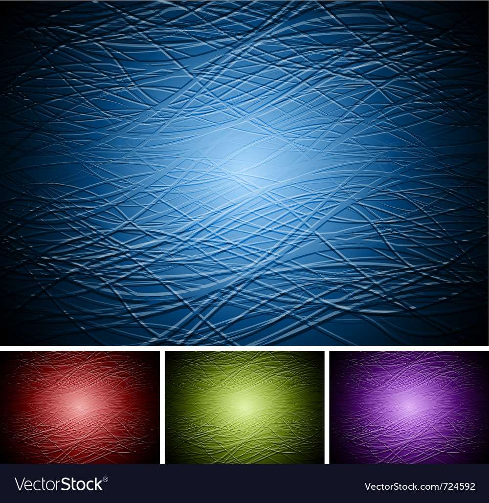 Set of abstract dark backdrops vector | Price: 1 Credit (USD $1)