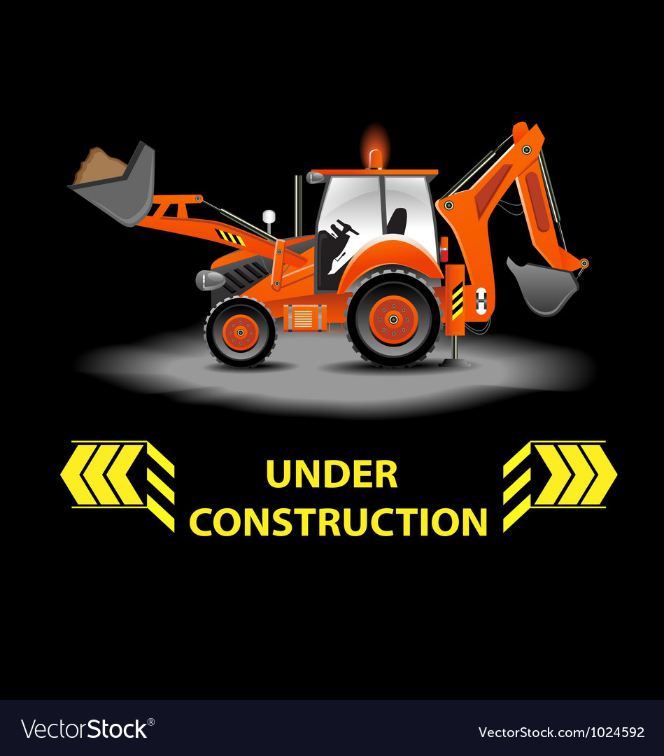 Under construction alert vector | Price: 3 Credit (USD $3)