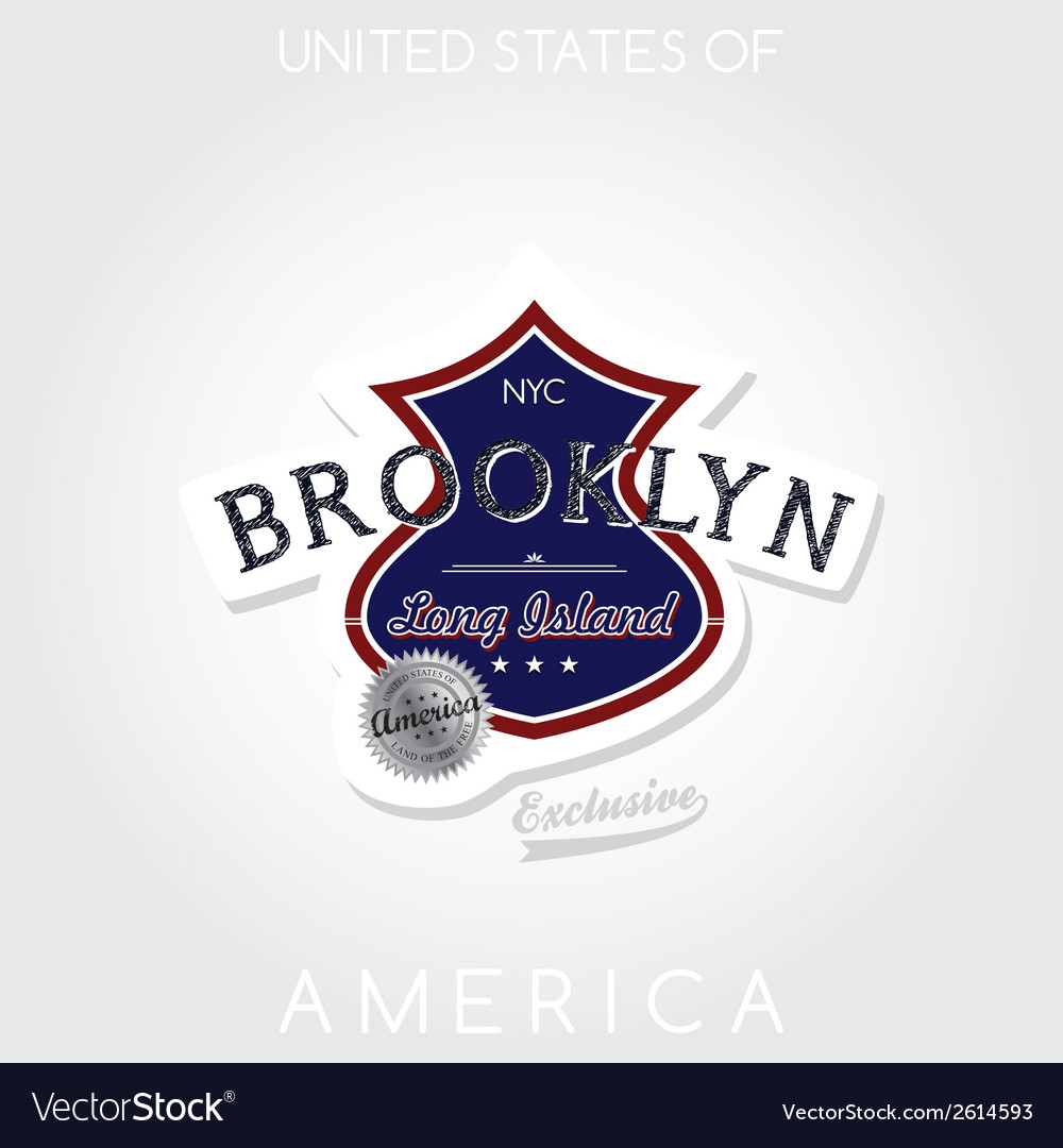 Brooklyn vector | Price: 1 Credit (USD $1)