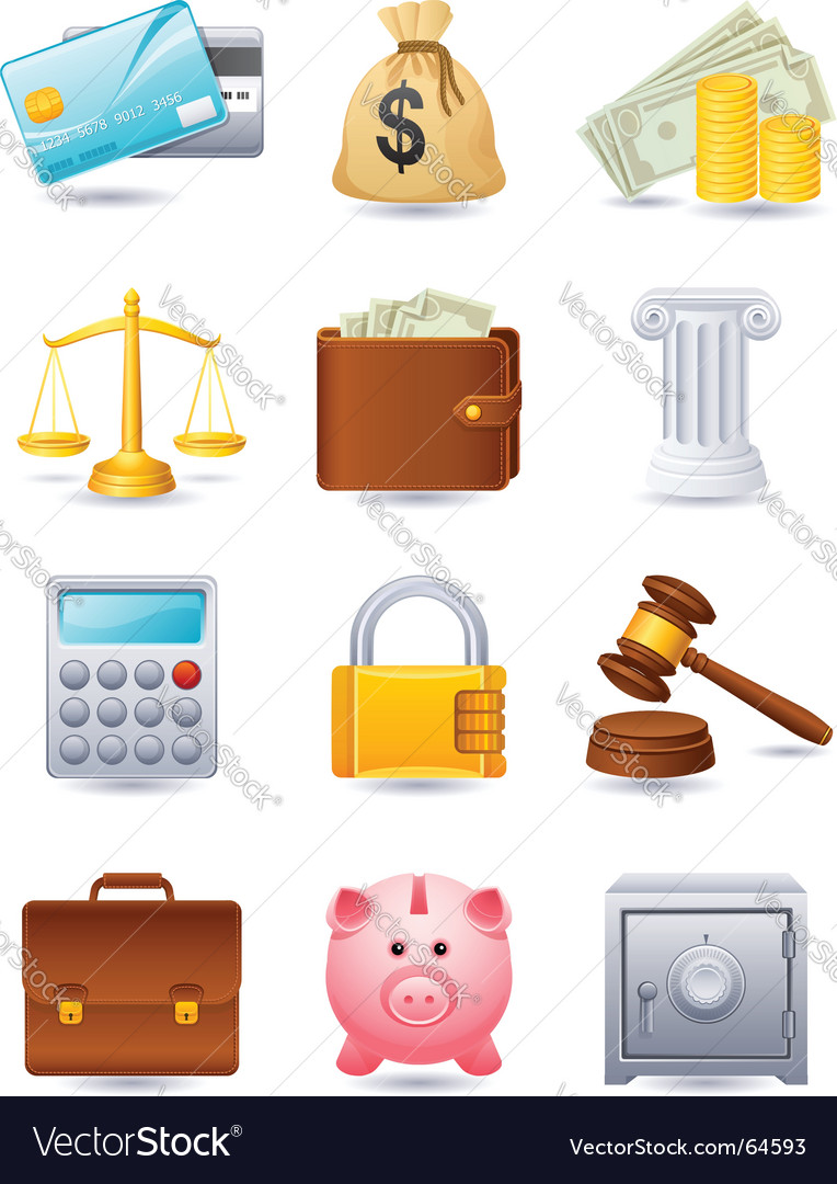 Finance icon vector | Price: 3 Credit (USD $3)