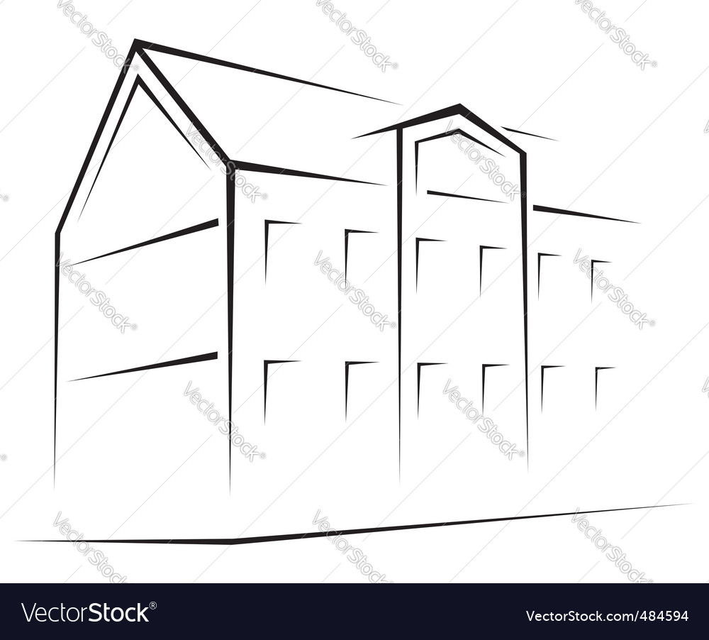 Building symbol vector | Price: 1 Credit (USD $1)