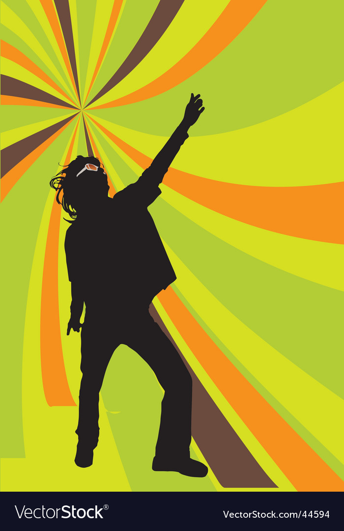 Disco dancer vector | Price: 1 Credit (USD $1)