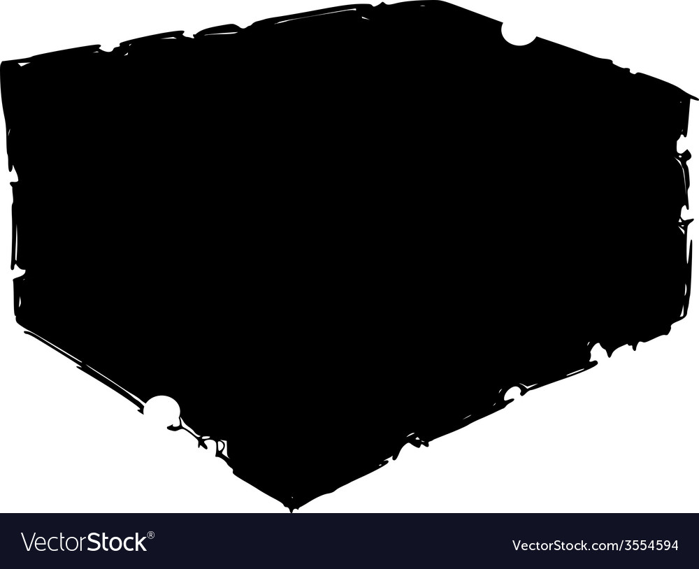 Silhouette of bath sponge vector | Price: 1 Credit (USD $1)